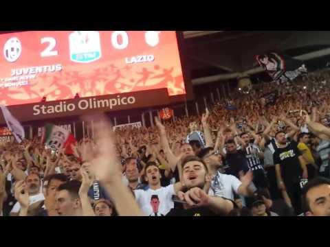 JUVENTUS 2-0 Lazio Finale Coppa Italia - Curva Sud Scirea