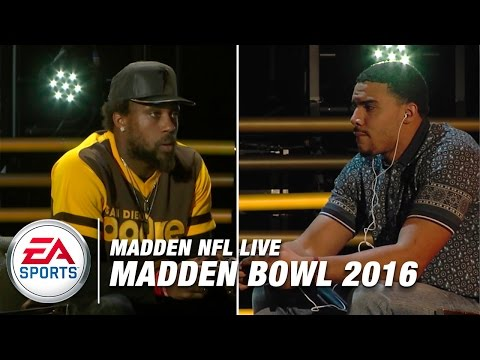 2016 Madden Bowl: Jordan Reed vs. Eric Berry Gameplay (Xbox One) | Madden NFL Live