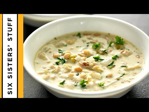 The CREAMIEST White Chicken Chili