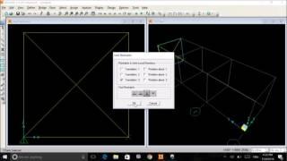 Modelling of 2D Truss Using Sap 2000