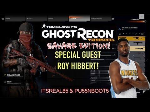 GHOST RECON, WILDLANDS W/ NBA PLAYER ROY HIBBERT, PU55NBOOTS & ITSREAL85!