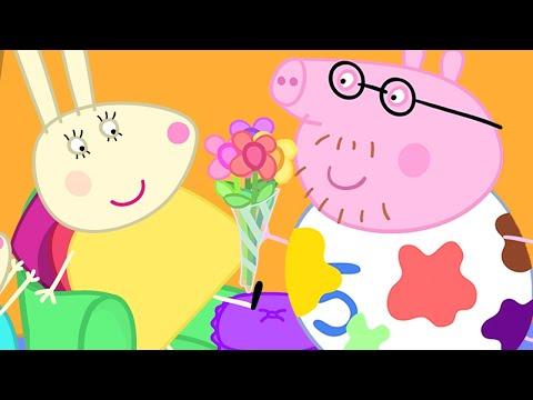 Mejuffrouw Konijn 🎊 Speciale Aflevering 💙 Tekenfilm | Peppa Pig Nederlands Compilatie Nieuwe