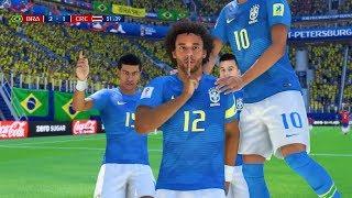 BRAZIL VS COSTA RICA | FIFA World Cup 2018 Predict | 22/6/2018 - Pirelli7