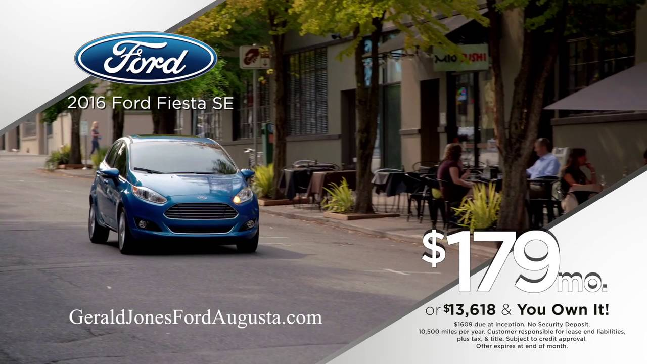 Gerald Jones Ford >> Move In Sale Fiesta Focus Gerald Jones Ford Augusta Ga Youtube