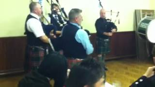 The first Irish Masonic pipe band playing Killaloe