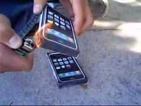 Burning iPhones from YouTube · Duration:  2 minutes 29 seconds