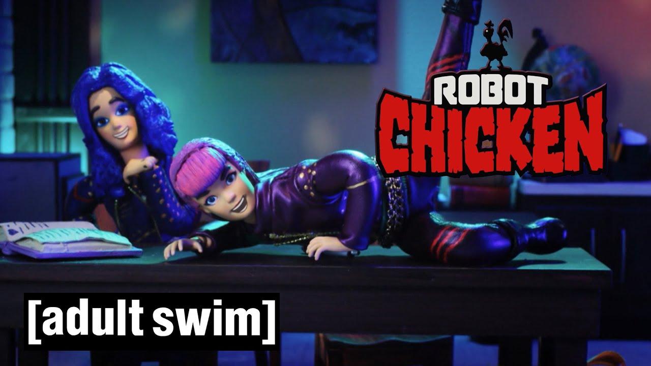Robot Chicken   X-23 Joins The Descendants   Adult Swim UK 🇬🇧