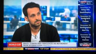 Dynamo Magician Predicts World Cup 2014 SkySports