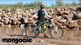 Mike Montgomery Mongoose Boot'r Bike Check