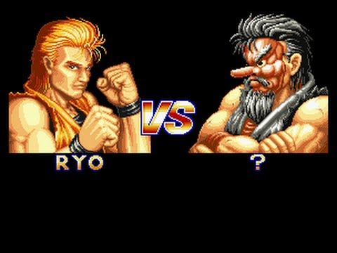 Art Of Fighting Ryo Vs. Mr. Karate