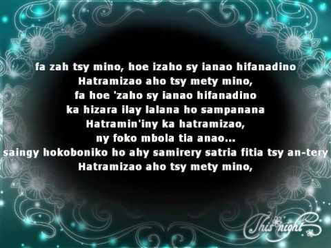 Hatram'zao - Raboussa (official lyrics video HD)