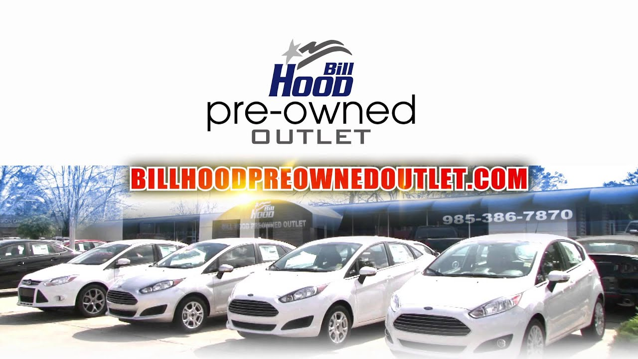 Bill Hood Pre-Owned Outlet  Used Cars for Less  (7/2015)  sc 1 st  YouTube & Bill Hood Pre-Owned Outlet