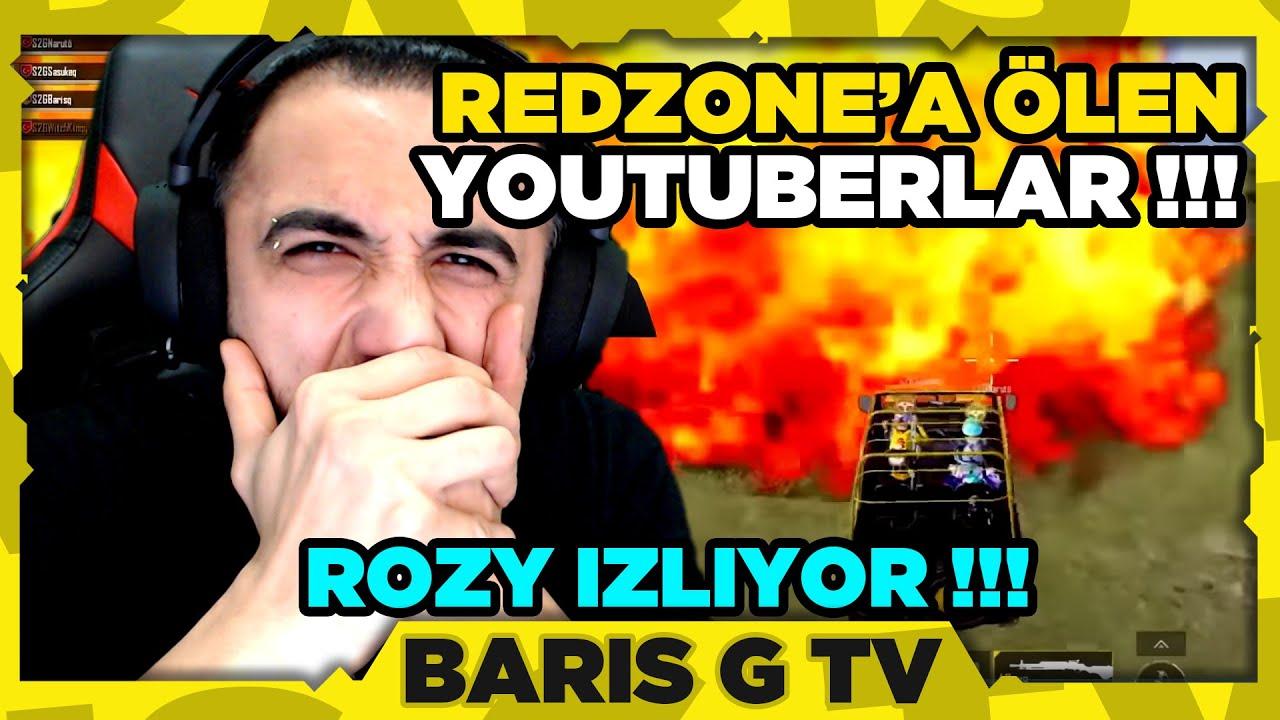 Barış G ROZY - REDZONE'A ÖLEN YOUTUBERLAR İZLİYOR !!!