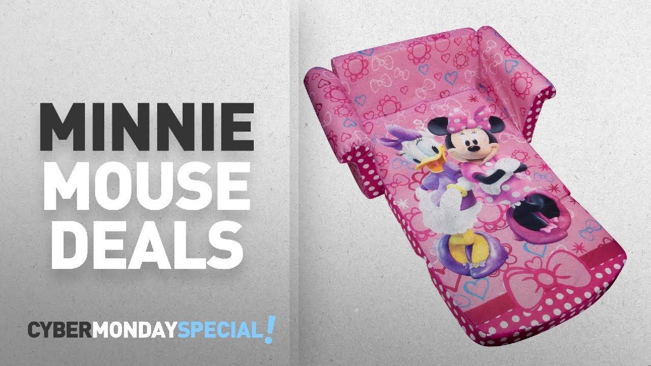 Top Cyber Monday Minnie Mouse Deals: Marshmallow Furniture, Childrenu0027s 2 In  1 Flip Open Foam Sofa,