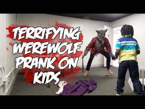Generate WEREWOLF PRANK ON KIDS GONE VERY BAD!! Images