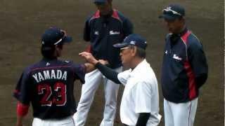 2013/02/22 山田 スローイング練習