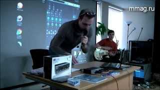 Steinberg UR242 - презентация аудиоинтерфейса