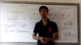 Different Car in terms of Body(Automobile Engineering Lecture in Bangla By Y.E.Cr)