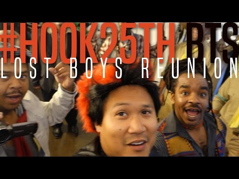 Hook25th Lost Boys Reunion! Behind the s of the photoshoot!