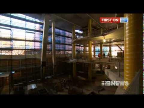 Nine News Sydney: Dr Chau Chak Wing Building (11/8/2013)