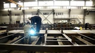 видео завод металлоконструкций