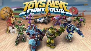 Toys Alive: Fight Club - Ожилі іграшки: Бійцівський клуб на Android ( Review)