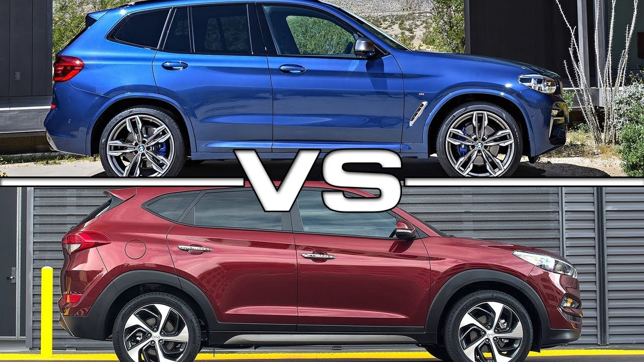 2018 Bmw X1 Vs X3 >> 2018 BMW X3 vs 2016 Hyundai Tucson - YouTube
