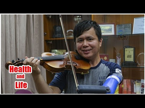 New prosthetic arm from Hong Kong university helps make amputee's musical ...