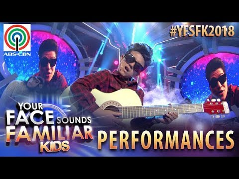 Your Face Sounds Familiar Kids 2018: Marco Masa as Bruno Mars | The Lazy Song