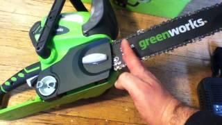 Greenworks Cordless Chainsaw vs Ryobi vs Dewalt