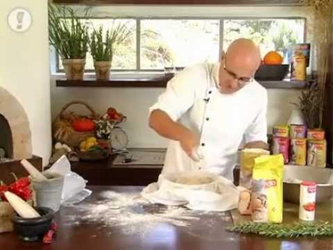 מתכוני סוגת: לחם כפרי עם אגוזים