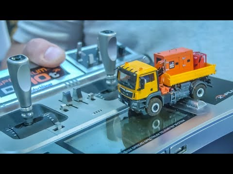 INSANE Micro Scale RC Trucks! Excavators! Tractor plowing!