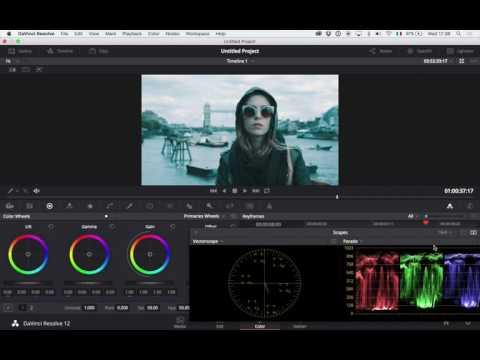 Davinci Resolve Color Grading Tutorial - BMPCC, Panasonic G7, iPhone 6s Plus