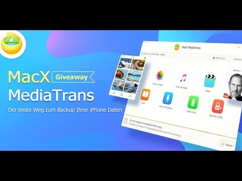 MacX Mediatrans - Die Beste ITunes Alternative [Giveaway]