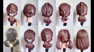 Top 30 Amazing Hairstyles for Short Hair 🌺 Best Hairstyles for Girls  | Part 3