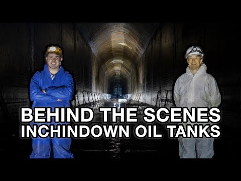 Inchindown Oil Tanks: Behind The Scenes