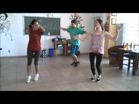 Latin dance class at Augsburg's Campus Abroad in Mexico