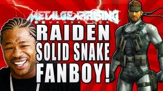 Metal Gear Rising - Raiden - Solid Snake Fanboy - Reference / Easter Egg