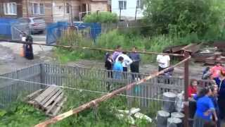 Цыганская свадьба Графини и Андрея Тюмень 2014 видео.