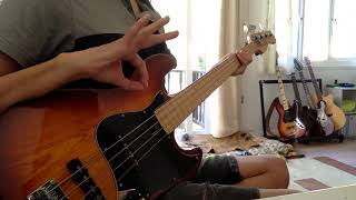 Porcupine Tree - Stars Die (fretless bass cover)