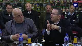 المستثمرون في مدينة الحسن الصناعية يبحثون مع وزير البلديات فرص الاستثمار - (28-1-2018)
