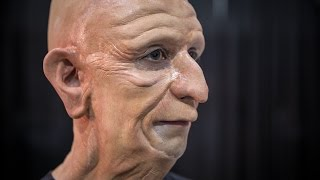 Real-Life Professor Farnsworth Makeup Application!