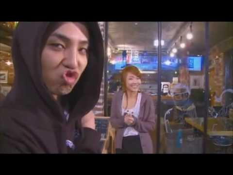 gd cl in YGTV, SAL, chocolate:  lee chaerin (2NE1) g-dragon (Big Bang)