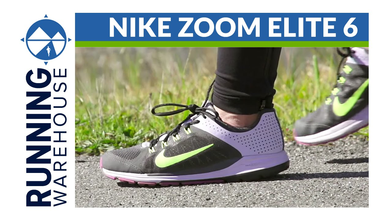 buy popular dcb5a 70ab4 Nike Zoom Elite 6 Shoe Review