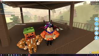 Bloxroller and I in the Nice high school at Roblox Dutch