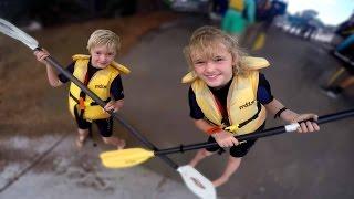 Family Kayaking Adventure!