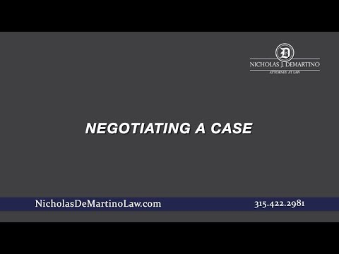 Video: Negotiating a Case