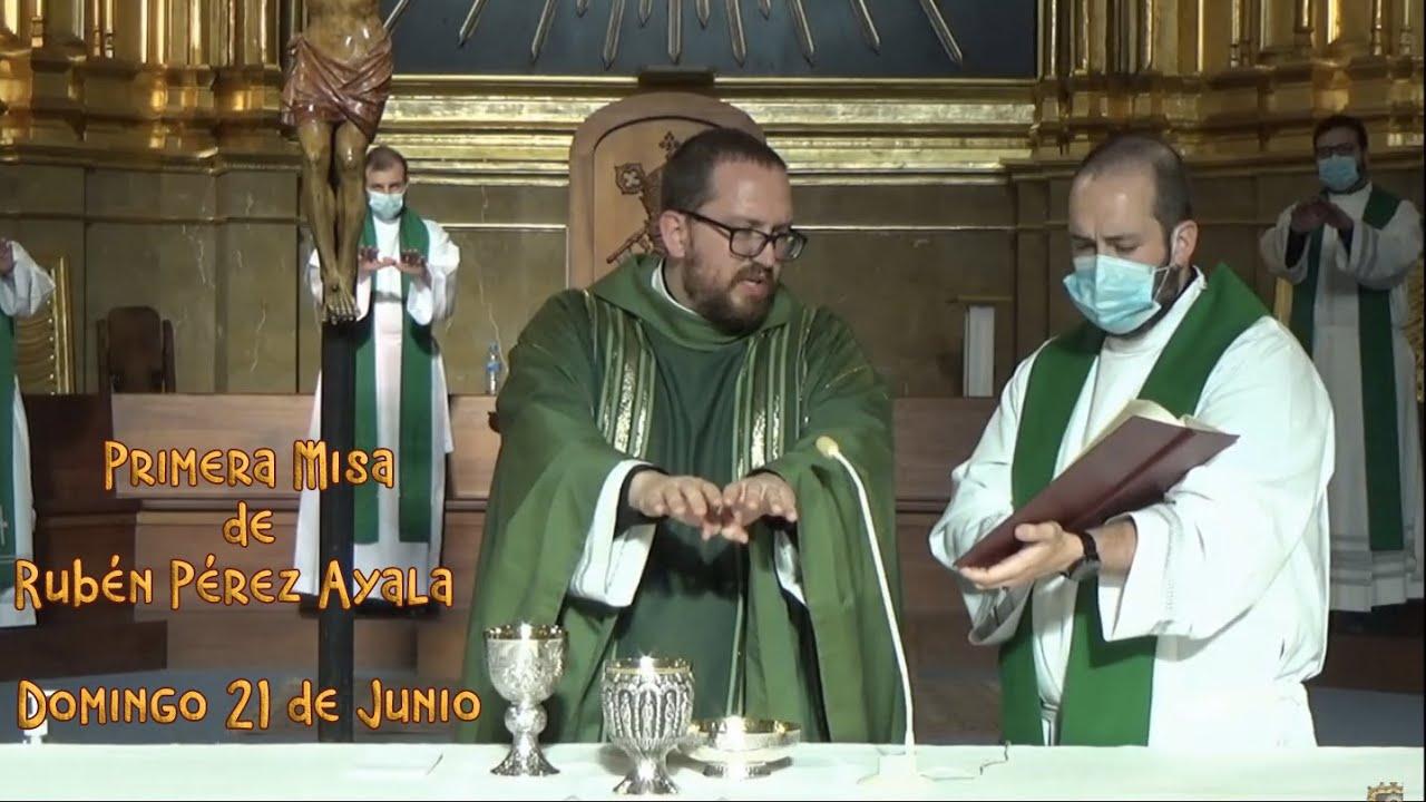 Primera Misa de Rubén Pérez Ayala