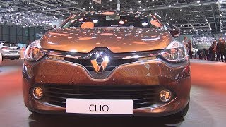 Renault Clio Berline Iconic TCe 120 EDC (2016) Exterior and Interior