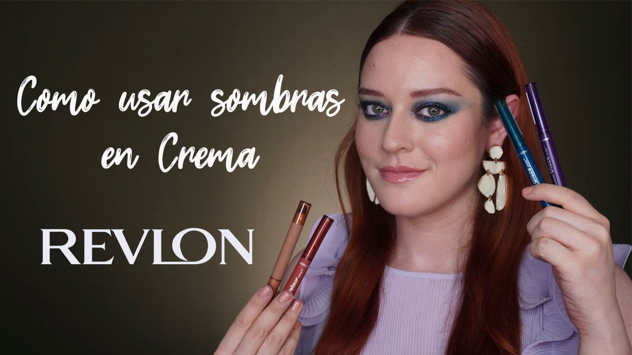 Smokey Eye sólo con Sombras Cremosas - Review/Tutorial Revlon Colorstay Stick- Pamela Segura